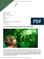 25 Herramientas TIC Para El Aula de Ciencias Naturales _ AulaPlaneta