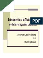 Introducción a la Metodología de la Investigación Científica