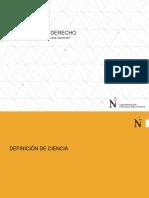 La Ciencia Del Derecho Ppt.