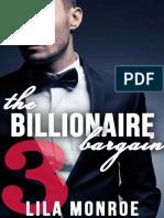 The Billionaire Bargain 3 - Monroe, Lila