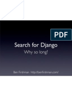 Search for Django – BarCamp London 6