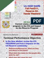 Reserve Meeting ICS Ver 18OCT