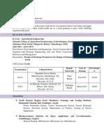Shubhangi Mulik CV