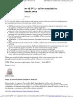 10 Conceptos Sobre El EVA - Valor Económico Agregado - DeGerencia