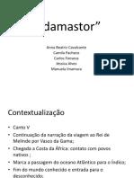 Slides Adamastor (1)