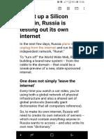 HBR_Russia & Internet