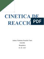 cinética de reacción