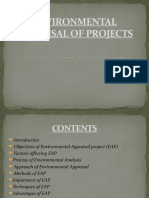 Environmental Appraisal of Projects
