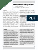 Non Destructive method for coating adhension testing.pdf