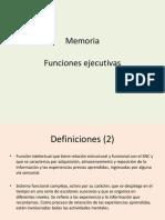 0.1 Contenidos Memoria - Funciones Ejecutivas