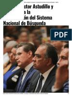 24-03-2019 Asisten Héctor Astudillo y la Conago a la reinstalación del Sistema Nacional de Búsqueda.
