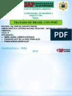 Tradado de Perù y Brasil