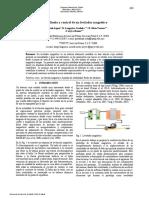 Análisis, Diseño y Control de Un Levitador Magnético