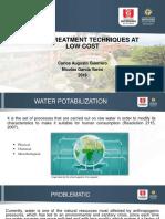 Tecnologías de potabilizar el agua