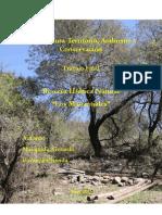 Diagnóstico Ambiental de La Reserva Hídrica Los Manantiales, por Superposición de Mapas de Riesgo, Para Un Plan de Manejo Municipal (Mesquida-Pavan 2013)