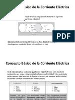 Concepto Básico de La Corriente Eléctrica