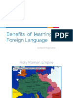 Benefits of studying a second language