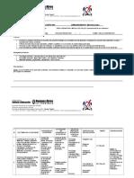 Planificación Anual 2019 Conocimiento de Los Materiales