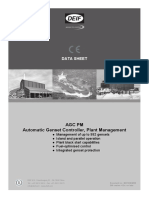 2-SHEET - AGC Plant Management Data Sheet 4921240420 UK