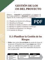 11.- Gestión de Los Riesgos Del Proyecto