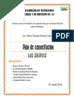 Plan de Capacitacion LAS MENFLIX