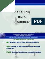 Data ResOrs