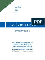 Docencia universitadad Alcalá