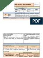Plan Curricular Anual de Investigación Bi - 2015-2016