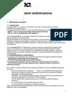 Manuale antintrusione