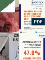 PREFERENCIAS ELECTORALES ESTADO DE PUEBLA MARZO-ABRIL 2019 PUBLICAR FINAL STATUS OPCIÓNB