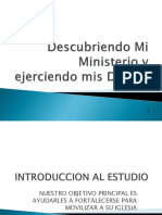 Descubriendo y Ejerciendo Mi Ministerio Version Movipres Oko