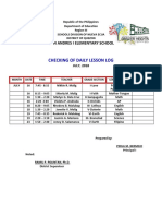 Schedule of checking of DLL.docx