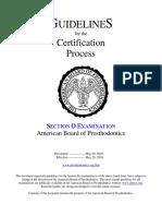 ABP Section D
