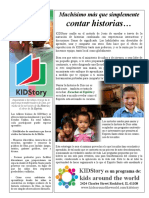 Kidstory Flyer Spanish