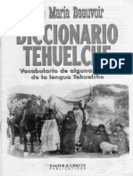 Diccionario Tehuelche