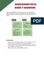 Vulnerabilidades en el Software y Hadware