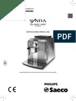 Manual cafetera saeco