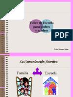 LA COMUNICACIÓN ASERTIVA FAMILIA-ESCUELA 2.ppt