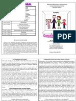 Diptico sobre Comunicación Asertiva Familia-Escuela