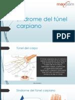Síndrome del túnel carpiano.pptx