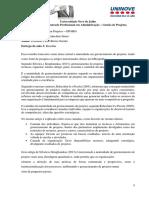 Artigo Maturidade - Rabechini Jr e Pessôa (2005)