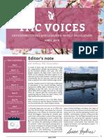Spring 2019 TMC Voices Newsletter