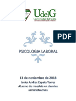 Javier Andres Zapata Torres Actividad 1 Psicologia Laboral 13.11.2018
