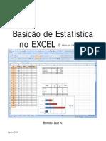 Basicão de Estatística Excel