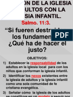 Leccion 5. Relación de La Iglesia de Adultos}.