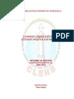 Informe de Gestion Comision de Contraloria