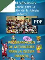 Leccion 15. Programacion-Actividades-iglesia Infantil