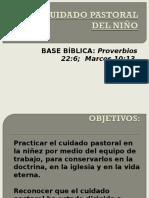 Leccion 14. El Cuidado Pastoral Del Niño