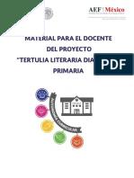 ProyectoTertulia Clubes de Autonomia