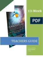 Forbidden Gates Teachers Guide
